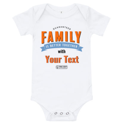 Family is better together baby T-shirt